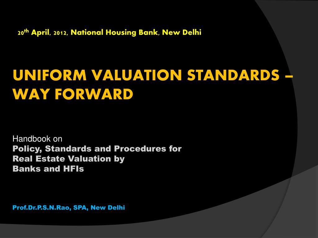 20 th april 2012 national housing bank new delhi l.