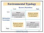environmental typology