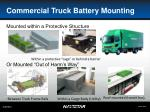 commercial truck battery mounting