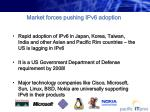 market forces pushing ipv6 adoption11