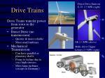drive trains