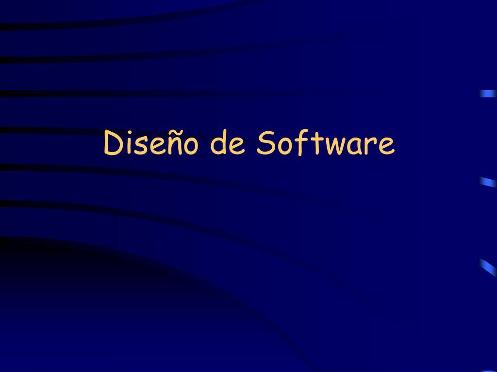 dise o de software l.