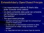 extensibilidad y open closed principle