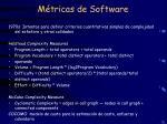 m tricas de software