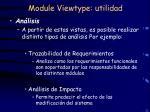 module viewtype utilidad