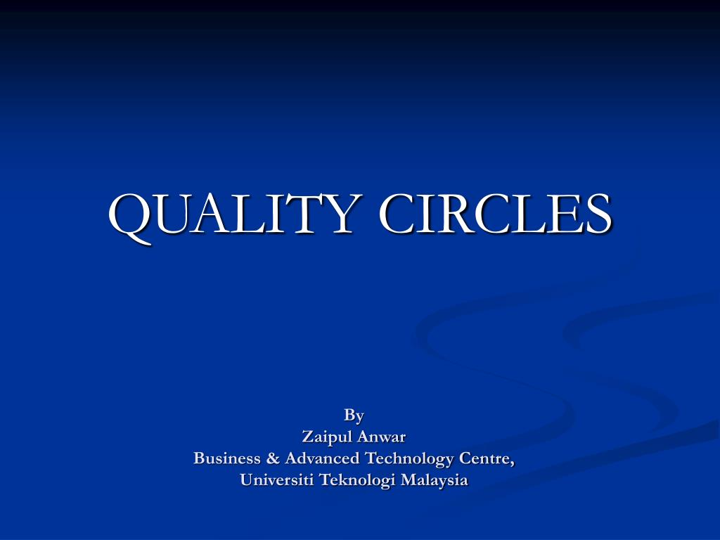 quality circles l.