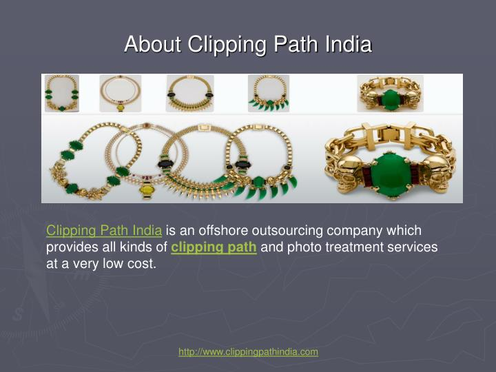 About clipping path india
