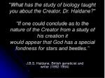 j b s haldane british geneticist and writer 1892 1964