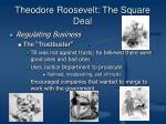 theodore roosevelt the square deal4