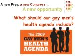 a new pres a new congress a new opportunity