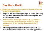 gay men s health1