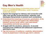 gay men s health3