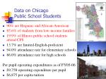 data on chicago public school students