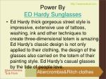 power by ed hardy sunglasses