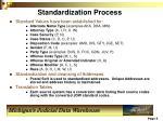 standardization process