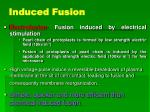 induced fusion15