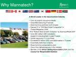 why mannatech