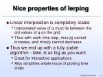 nice properties of lerping