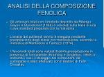 analisi della composizione fenolica18