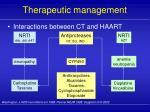 therapeutic management34