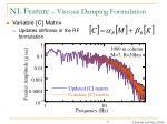 nl feature viscous damping formulation16