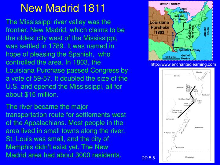 New Madrid 1811