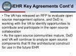 iehr key agreements cont d