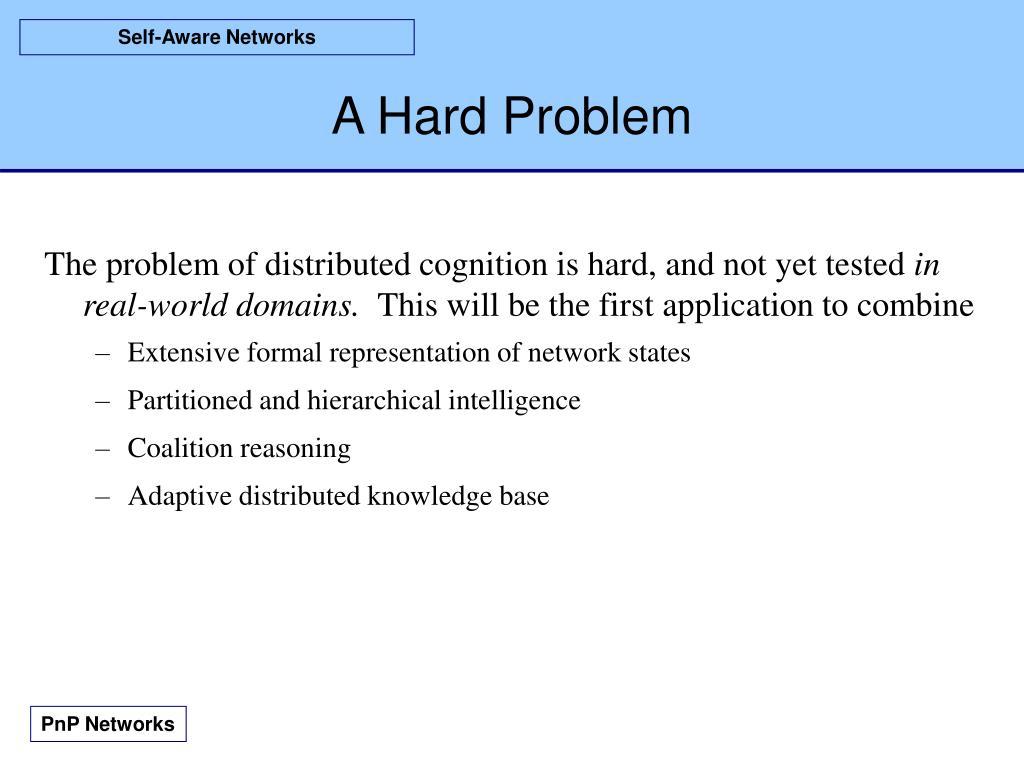 A Hard Problem