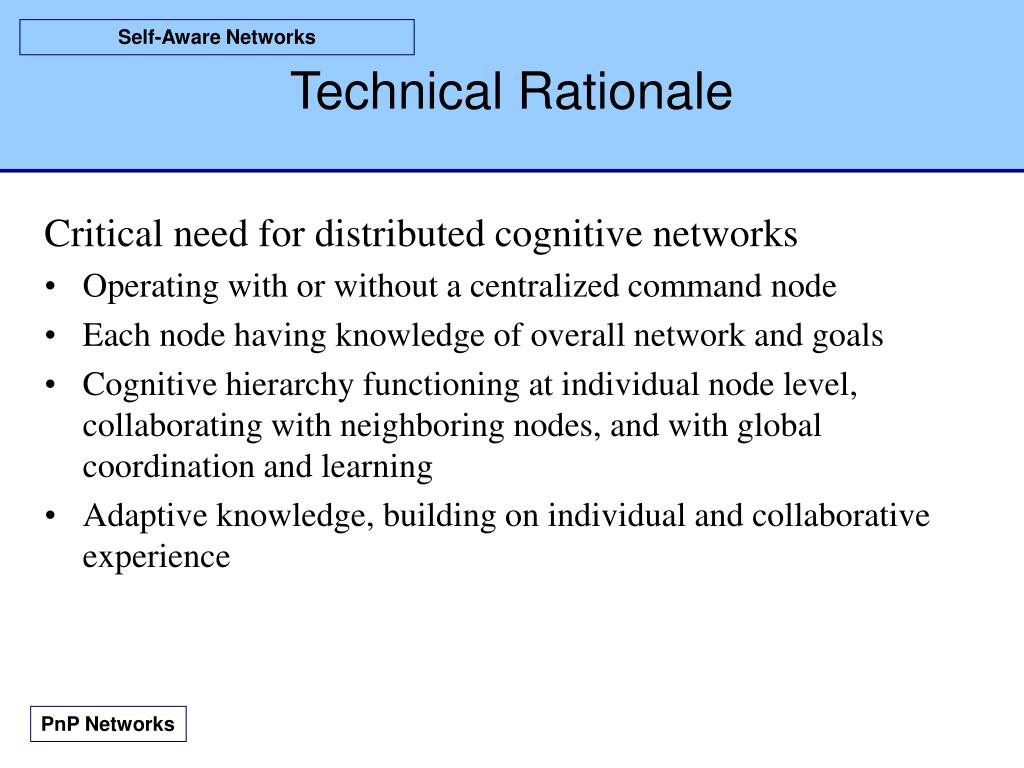 Technical Rationale