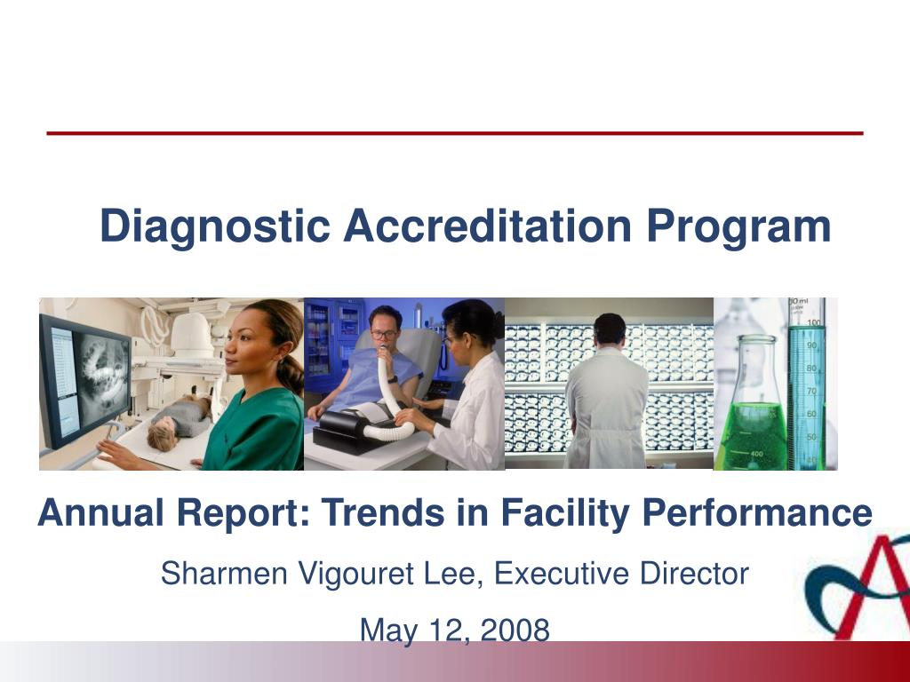 diagnostic accreditation program l.