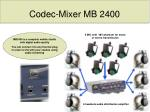 codec mixer mb 2400