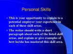 personal skills29