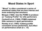 mood states in sport