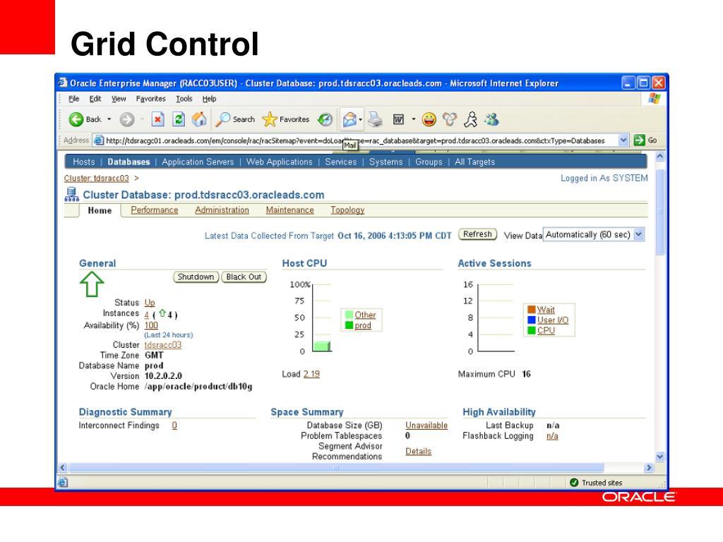 Grid Control