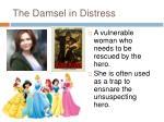 the damsel in distress