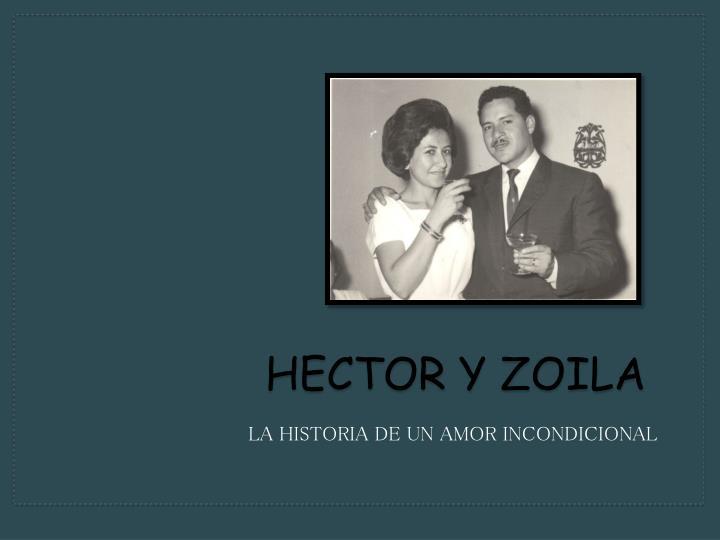 Hector y zoila