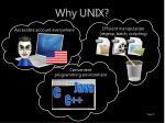 why unix