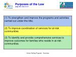 purposes of the law page 561 lines 10 17