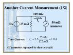 another current measurement 1 2