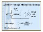 another voltage measurement 1 2