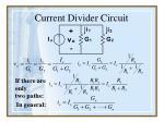 current divider circuit