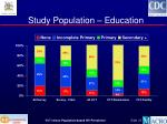 study population education