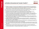 la direttiva comunitaria ed il mondo bonifici