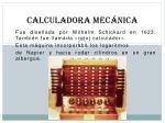 calculadora mec nica