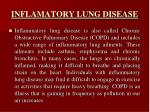 inflamatory lung disease
