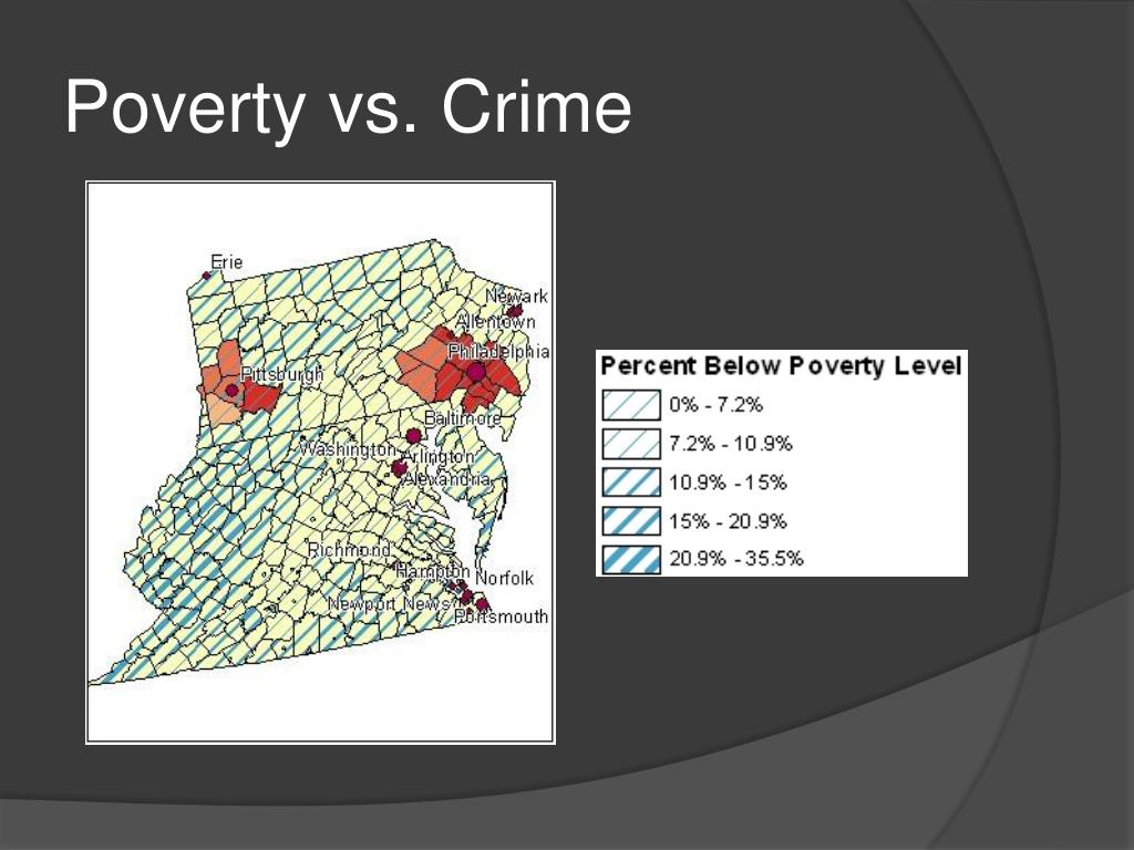 crime and poverty In defiance of all reason and compassion, the criminalization of poverty has actually been intensifying as the recession generates ever more of it.