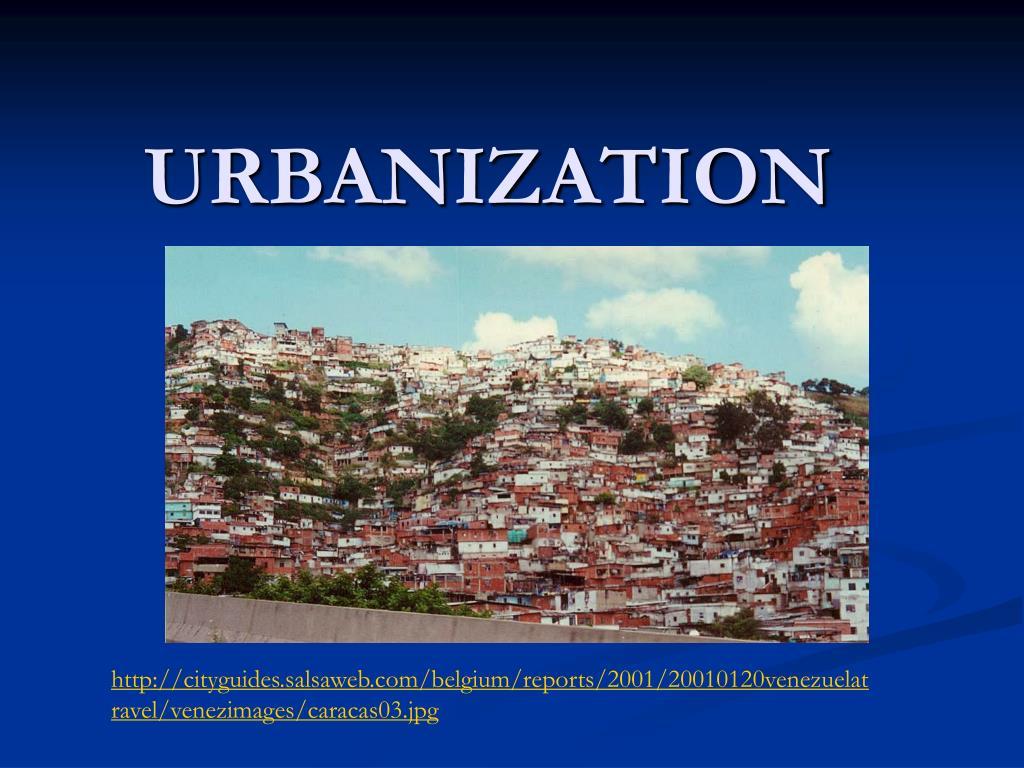 urbanization l.