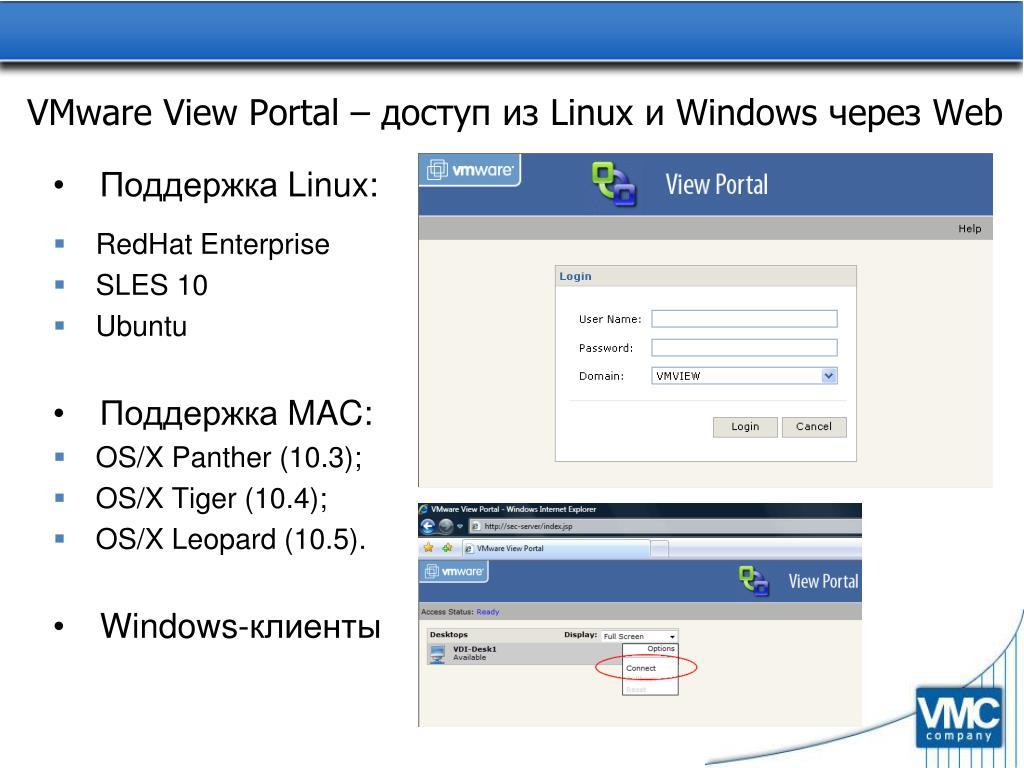VMware View Portal –