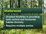 shelterwood