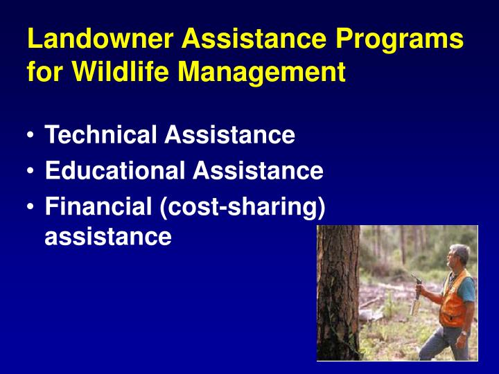 Landowner Assistance Programs